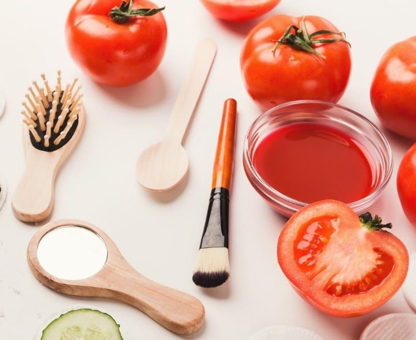 Cách trị nám da mặt bằng trái cà chua